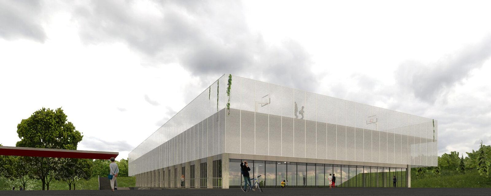 estudio de arquitectura obra nueva construccion polideportivos y centros deportivos en vitoria
