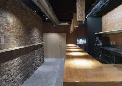 rehabilitacion bar en la parte vieja de vitoria 1307 arquitectos