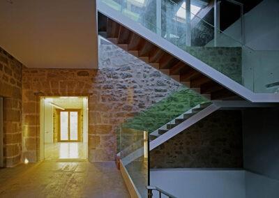 escaleras de diseño reforma interiores estudio arquitectura 1307 arquitectos en vitoria