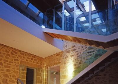 reforma interior y decoracion de edificio 1307 arquitectos vitoria