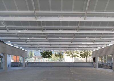 1307 estudio de arquitectura en álava ampliación colegio en vitoria