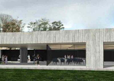 107 arquitectos vitoria construcción de escuela de cocina y espacios para eventos