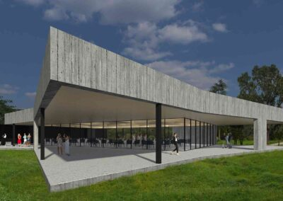 rehabilitación y ampliacion de edificios para eventos 1307 arquitectos alava