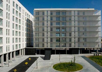 arquitectos construccion vivienda de vpo en vitoria